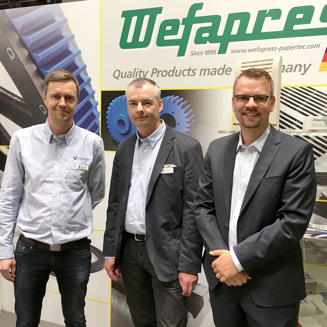 Wefapress - Messe Pulpaper 2018