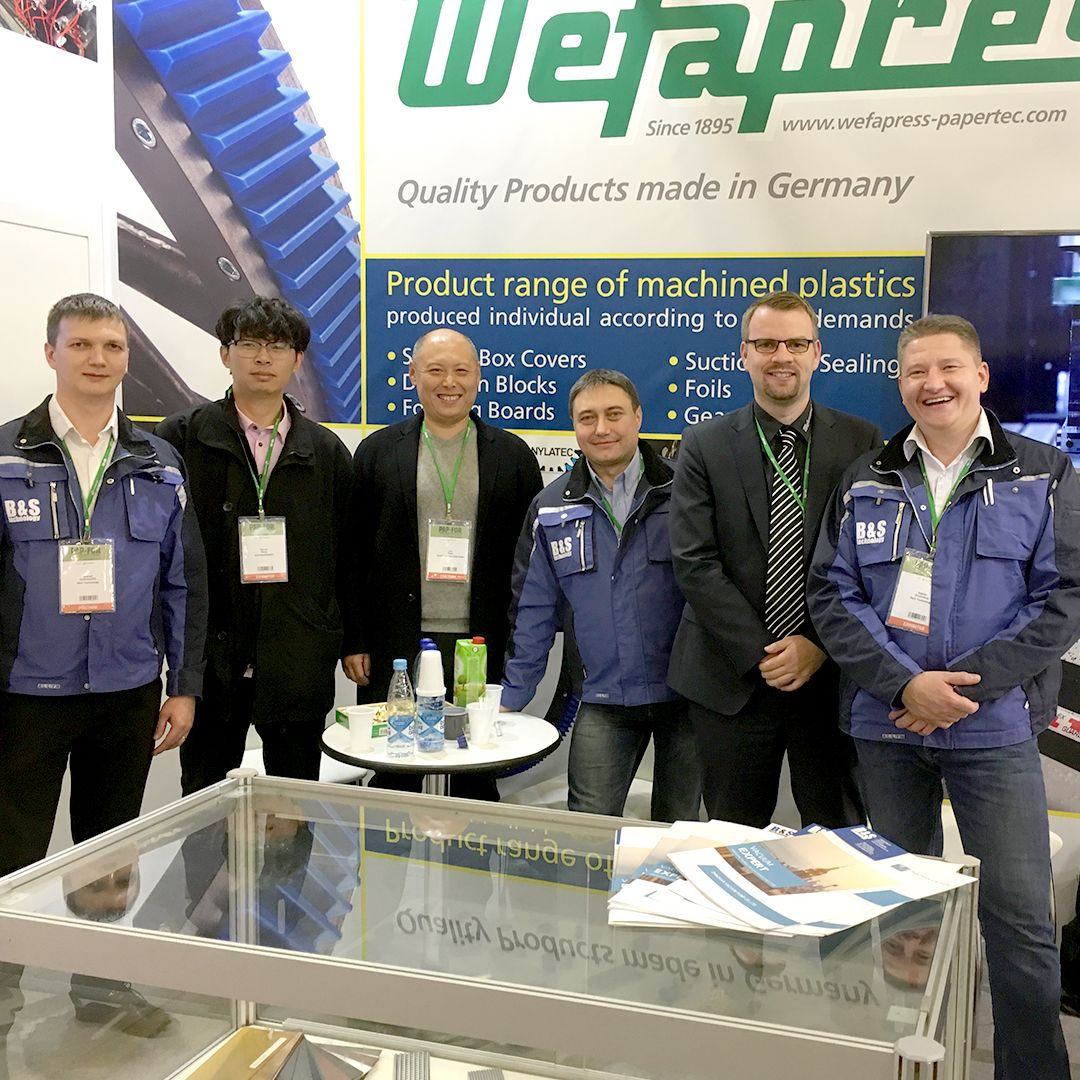 Wefapress - Messe Russland 2018