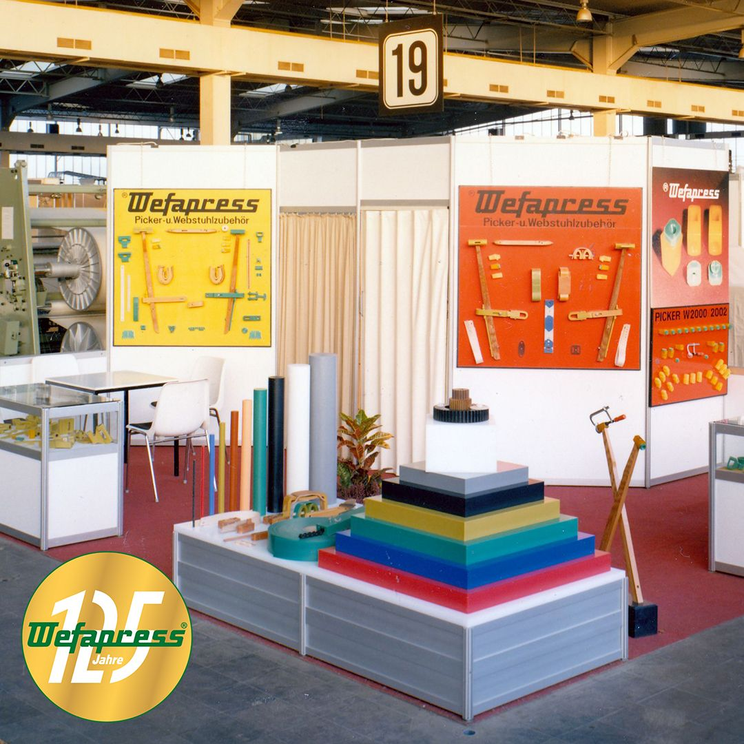 Wefapress - Messe ITMA Hannover 1979