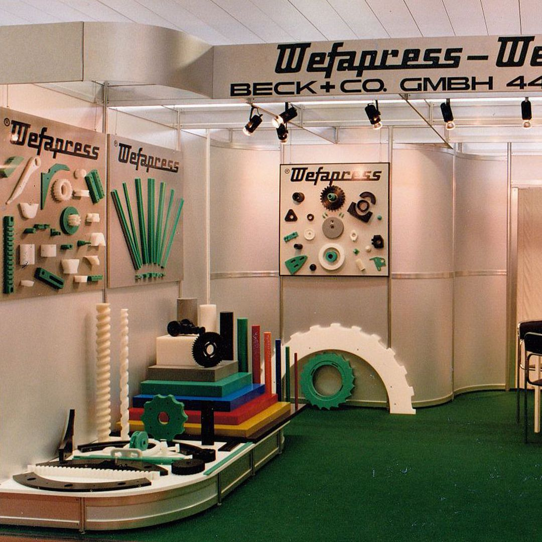 Wefapress - Messe Motek 1984